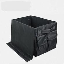 Car Trunk Organizer Box, Storage Bag Black Color