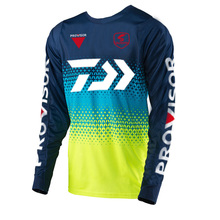 2019 DAWA Summer Long Sleeve Fishing Jerseys Cool Ice Anti-UV Outdoor Quick Dry Clothing Cycling Jersey Shirt