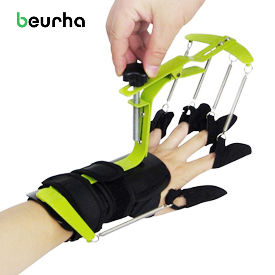 Hand Physiotherapy Rehabilitation Training Dynamic Wrist Finger Orthosis For Apoplexy Stroke Hemiplegia Patients' Tendon Repair finger device finger wrist hand orthosis with ball stroke hemiplegia rehabilitation training equipment