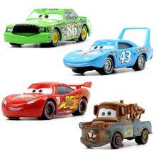 Disney Pixar Cars 3 21 Style For Kids Jackson Storm auto di alta qualità regalo di compleanno giocattoli per auto in lega modelli di cartoni animati regali di natale
