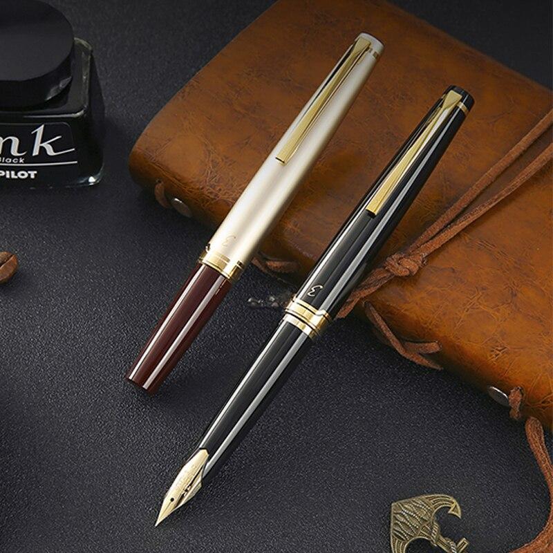1 قطعة الطيار النخبة 95s 14k جراب قلم ذهبي EF/F/M المنقار محدودة النسخة جيب قلم حبر الشمبانيا الذهب/أسود الكمال هدية-في أقلام حبر من لوازم المكتب واللوازم المدرسية على  مجموعة 3