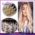 Brazilian virgin hair body wave 3pcs with 13x4 lace frontal dark roots blonde ombre hair bundles with frontal free shipping