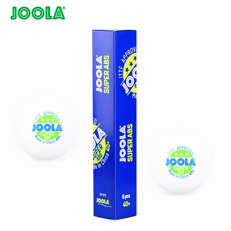 12 Balls JOOLA Table Tennis Ball 3-star Super ABS New Material Seamed 40+ Plastic Ping Pong Poly Ball Tenis De Mesa