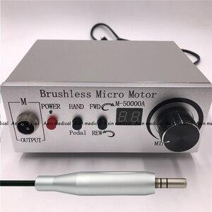 "Image 5 - באיכות גבוהה 50,000 סל""ד שיניים brushless תכשיטי E סוג micromotor שיניים מעבדה ליטוש סט"