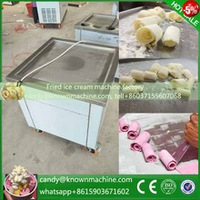 Express DHL Free ship frying yoghourt machine with temperature control Fried ice cream roll machine