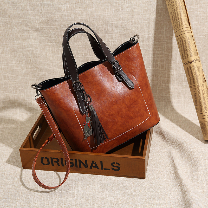 Bag For Women Big Handbags 2018 New Fashion women messenger bags bucket bags shoulder tide retro joker Designer handbags