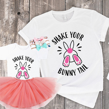 cute matching outfits big sister little fashion  easter mommy and me family clothing girl clothes cartoon bunny