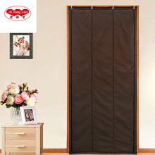 DIY Cotton Curtain for Shopping Mall Hotel Supermarket to Windproof Dustproof Waterproof Door Curtain Ai xianglian M-S