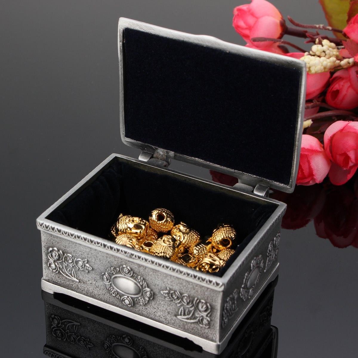 Necklace Bracelet Storage Vintage Jewelry Organizer Holder Gift Box