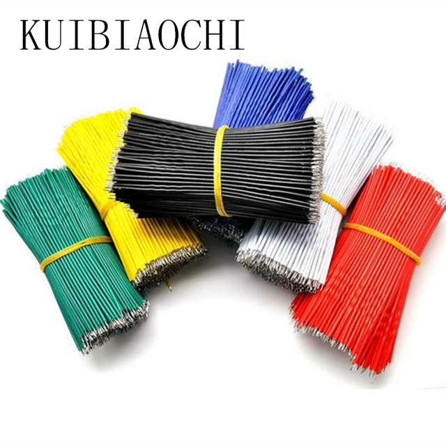 60pcs wire electronic insulated stud tinned galvanized color wire ...