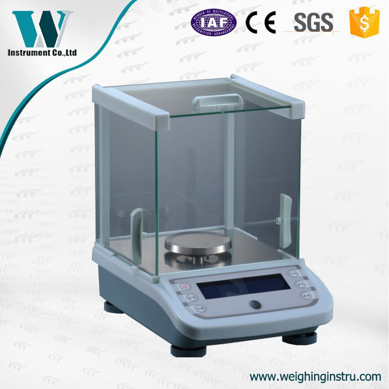 500g 1mg Precision Laboratory Balance Scale for Gold Diamond Scale Jewelry Stainless Steel Digital Scale 0.001g
