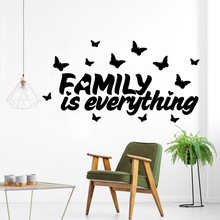 NEW English Sentence Wall Stickers Vinyl Waterproof Home Decoration Accessories Removable Sticker Background Art Decal