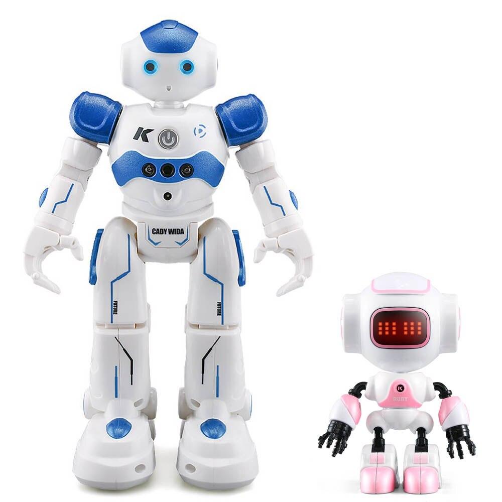 JJR/C JJRC R2 R8 R9 Combo USB De Charge Chant Danse Geste Contrôle RC Robot Jouet Bleu Rose Pour enfants Enfants Cadeau Présente