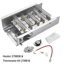 240 В 5400 Вт сушилка нагревательный элемент и термостат комплект 3403585 для джакузи Mayta Roper