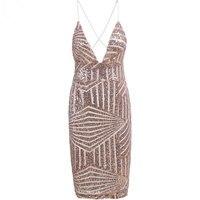 뜨거운 판매 여성 섹시한 여름 드레스 민소매 V 넥 스파게티 스트랩 스팽