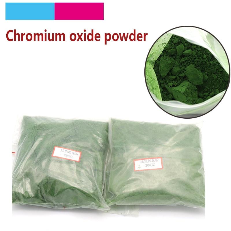 50g To 500g Polishing Powder Chromium Oxide Powder Polishing Tools For Glass Jade Crystal Agate Gems Amber Grinding Tool