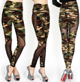 DJGRSTER High Qualtiy 2017 New Leggings Fitness Camouflage Women Leggings Bodybuilding Clothing Jegging Leggins Pants GRS-808