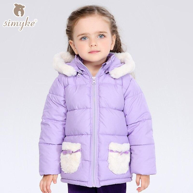Kızlar kalın coat için 2016 Yeni kış kış kadife ceketler bebek kız Çocuklar için kız Çocuk dış giyim Ceketler Kız çocuk bez