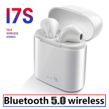 i7s TWS Mini Wireless Bluetooth Earphone Stereo Earbud Headset With Headphones Charging Box Mic For Iphone Xiaomi Ear i7 mini double bluetooth earphone headphones stereo tws wireless headset phone charger in ear air pods earbud for apple iphone