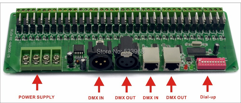 com buy channel channel easy dmx led controller com buy 30 channel 27channel easy dmx led controller dmx decoder driver rgb led controller from reliable led aquarium controller suppliers on
