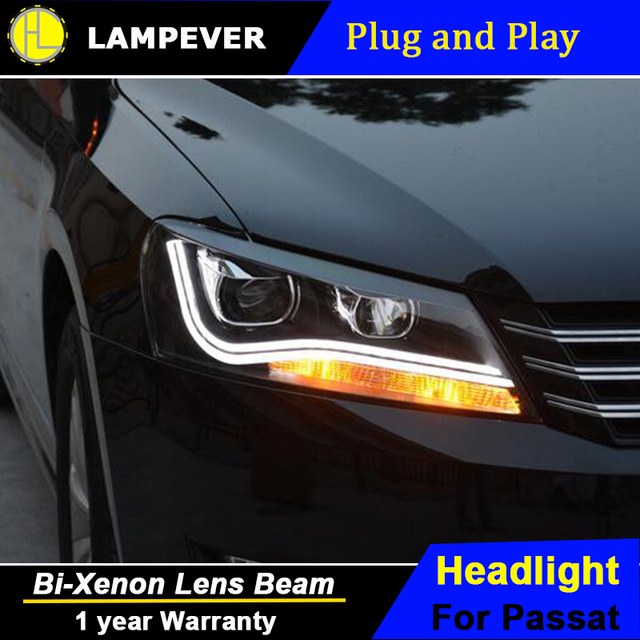 HLC For VW Passat B7 Headlights 2011 2015 America Passat