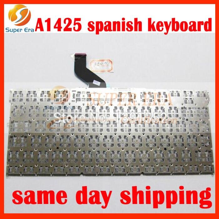 5pcs lot original for font b macbook b font pro 13 retina A1425 SP Spain Spanish