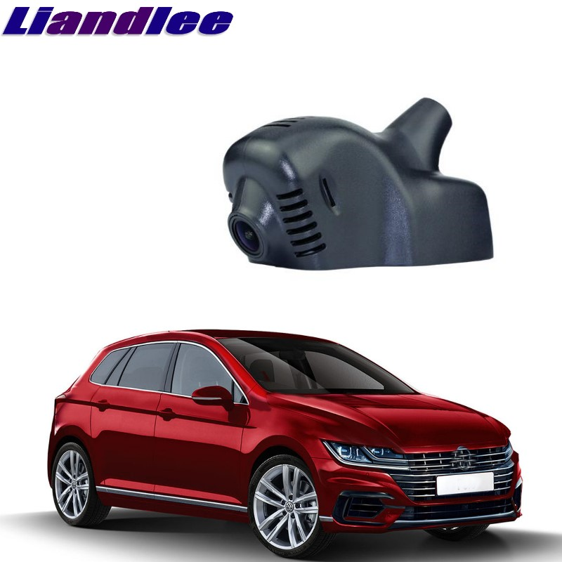 Liandlee For Volkswagen VW Polo 6Q / 9N / 9N3 6R / 6C / 61 2002~2017 Car Black Box WiFi DVR Dash Camera Driving Video Recorder liandlee for volkswagen vw crafter man teg 2006 2018 car black box wifi dvr dash camera driving video recorder