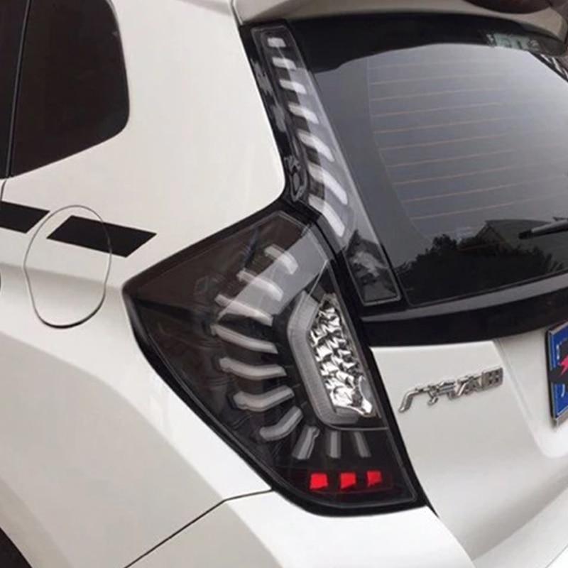 Auto taillight For HONDA JAZZ GK5 2014 2017 Taillights LED Tail Light LED Rear Lamp DRL