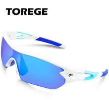 Polarized Sunglasses With 5 Interchangeable Lens for Men Women Goggle Style UV40