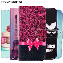 FRVSIMEM Flip Leather Wallet Case For iPhone X 4s 5 5s SE 6 6s 7 8 Plus Cover For Samsung Galaxy S3 S4 S5 S6 S7 edge S8 Plus