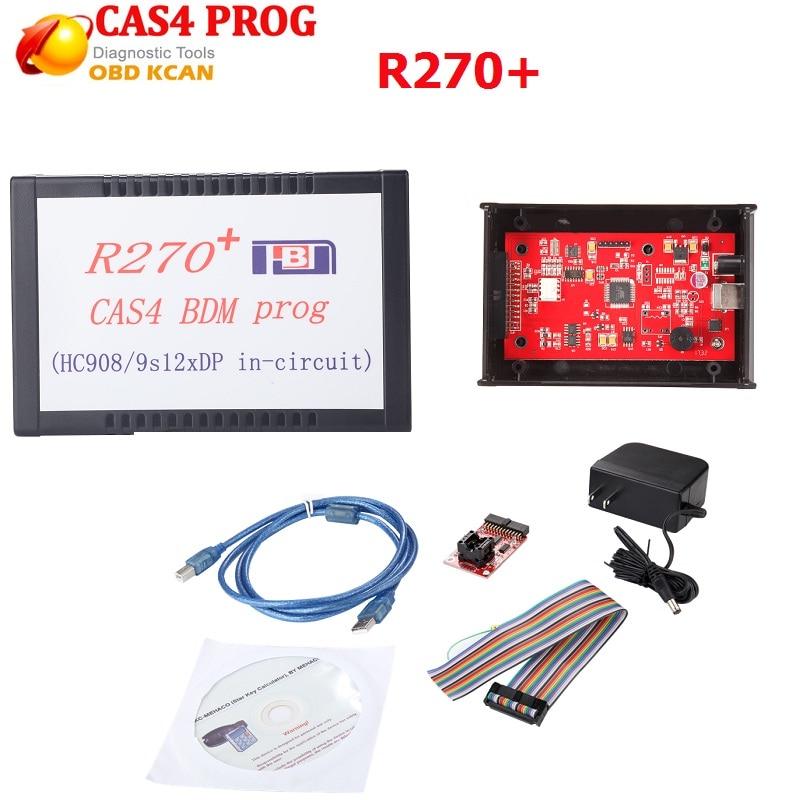 High Quality V1.20 Version R270+CAS4 BDM Programmer For BM W Professional Auto Key Programmer R270 Fast Shipping