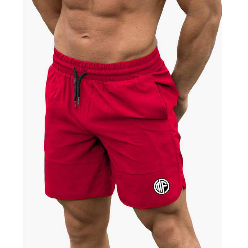 Fitness Shark Summer Jogger Shorts Men Patchwork Running Sports Workout Shorts Quick Dry Training Gym Athletic Shorts 1