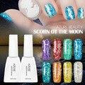 Azure 12 ml uv esmalte de uñas de gel uv led esmalte de uñas de larga duración laca Necesita Elegir 1 Botella de Gel de Base Y la Capa Superior UV Gelpolish