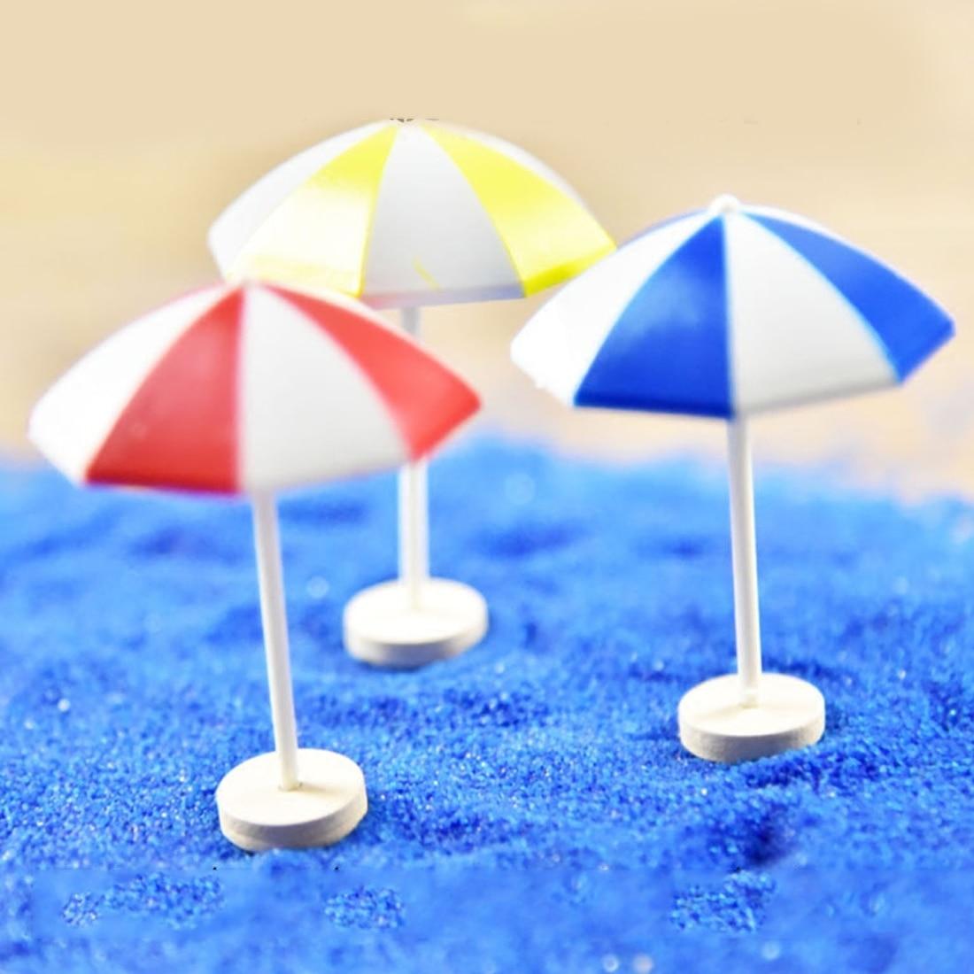 HOT Miniature/Terrarium/Doll Mini Artificial Beach Chair Ben Fairy Garden FigurineHouse Decoration Ornament DIY Accessories