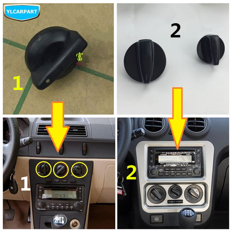 For Geely CK,CK2,CK3, Car conditioning control switch knob