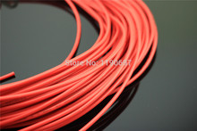 4meters Copper Wire Tin 0.824mm2 33strands*0.18 External Diameter 2.65mm 1015 18AWG For Audio DIY Amplifier Free Shipping