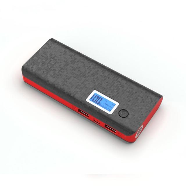 12000 мАч Power bank Dual USB Порты Быстрая Зарядка ЖК 18650 PowerBank для iPhone Xiaomi Huawei Таблетки Портативное Зарядное Устройство