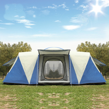 Ultralarge 8 12 Person One Hall 2 Bedroom Double Layer Waterproof Strong Camping Tent Family Tent Carpas De Camping Large Gazebo