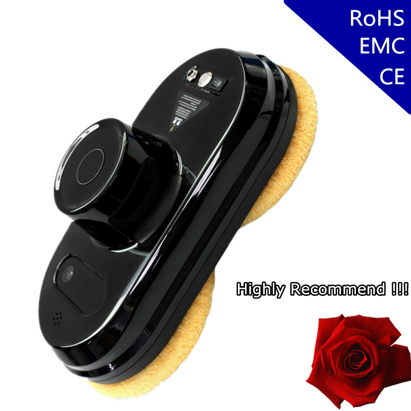 COP ROSE Window Cleaning Robot X5, Magnetic Vacuum Cleaner, Anti-falling,Remote Control, Auto Glass Washing, 3 Working Modes