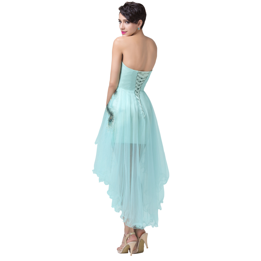 Aliexpress.com : Buy Wedding Events Front Short Back Long Prom Dress ...