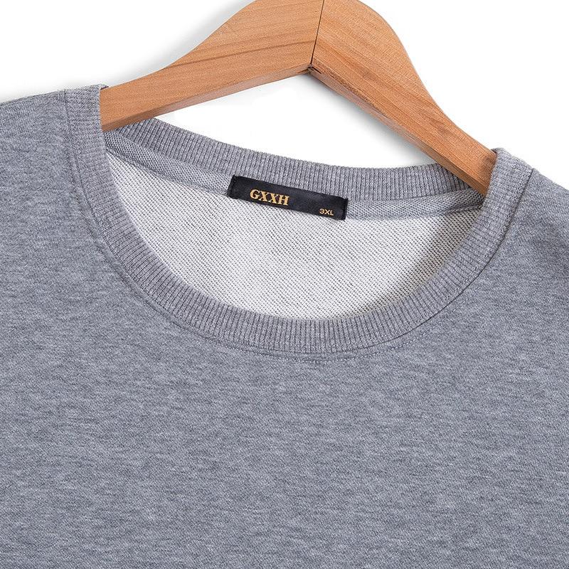 2017 Casual T17443 Papillon Streetwear shirt Broderie La Gris Automne 7xl Manche Mâle À Capuche Sur De Gxxh Et Sweat Hommes vqx0Aq
