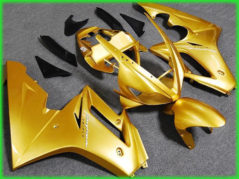 Motorcycle Fairing kit for Triumph Daytona 675 05 06 07 08 Daytona675 2005 2006 2007 2008 Golden ABS Fairings set+7gifts DT22 hot sales for bmw k1200s parts 2005 2006 2007 2008 k1200 s 05 06 07 08 k 1200s yellow bodyworks aftermarket motorcycle fairing