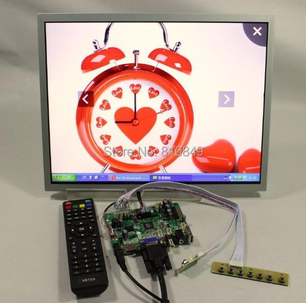 HDMI+VGA+AV+USB Lcd controller board+15inch LQ150X1LG96 1024*768 1050cd/m2 lcd screen model lcd for Raspberry Pi details about hdmi vga av audio usb controller board vst29 01b for 17 19inch 1280 1024 lcd screen model lcd for raspberry pi