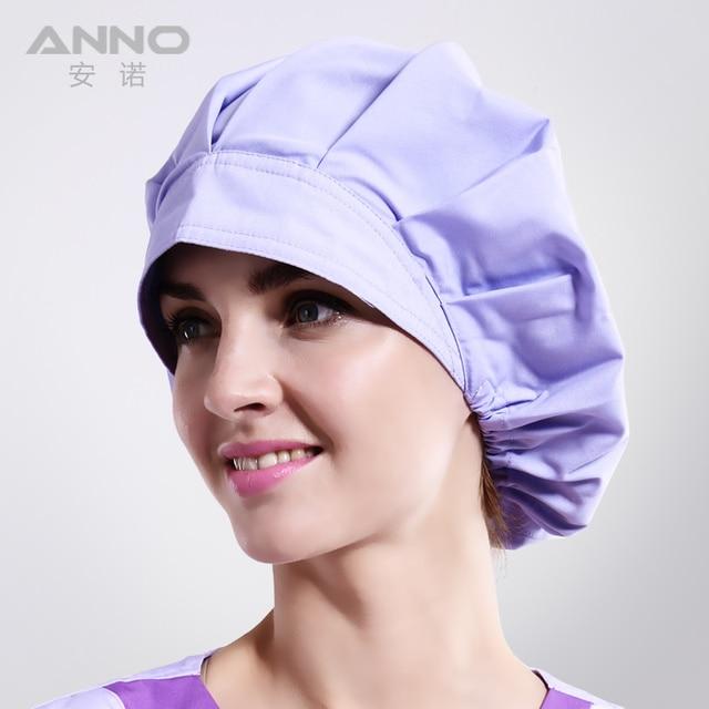 Bon Cap sombreros sombreros de Las Mujeres de matorral adecuado para el pelo largo con tapas de enfermería médica con sombrero de mujer