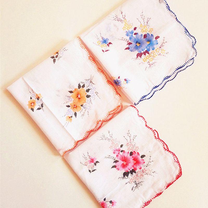 Einfach Naroface 6 Stücke Vintage Frauen Serviette Bestickt Schmetterling Spitze Blume Taschentücher Floral Sortierten Tuch Tragbare Damen Taschentuch Bekleidung Zubehör