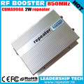 85dB 2 W CDMA GSM UMTS LTE 850 MHz 2G 3G 4G Inalámbrico CDMA 800 MHz Repetidor Del Teléfono móvil de La Señal Booster RF 850 mhz 3G repetidor