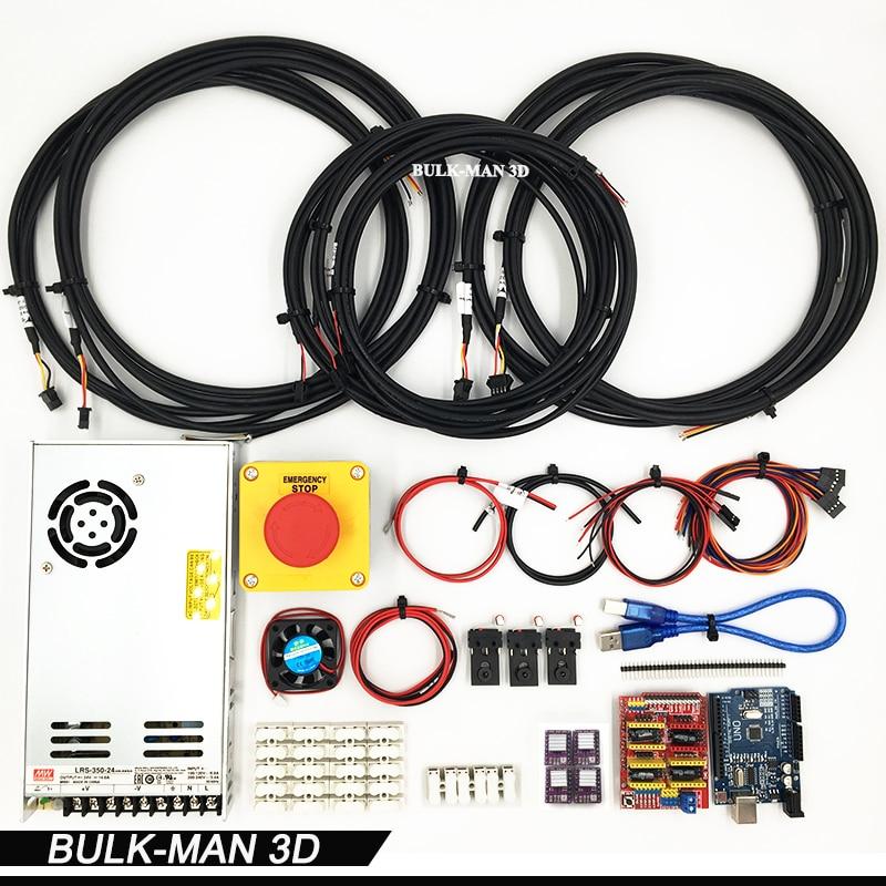 GRBL контроллер, электронный комбо для WorkBee фрезерные машины, рабочего, DIY ЧПУ комплект, дерево Machinary маршрутизатор, гравировка машины