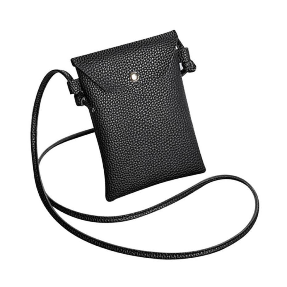 New Arrival Women PU Leather Shoulder Bag Ladies Hasp Coin Purse Card Holders Handbag Fashion Coin Phone Flap Crossbody Bags S