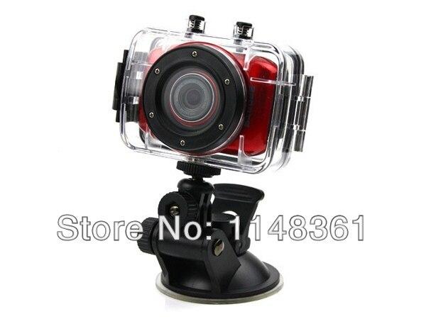 Новые HD 720 P Камеры Дайвинг FUll HD ВИДЕОРЕГИСТРАТОР DV Мини Водонепроницаемый Спорт Открытый Шлем Видеокамера Бесплатная доставка
