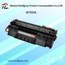 Kompatibel Q7553A tonerkartusche für HP LaserJet P2014/P2015/P2015D P2015N/P2015N/M2727